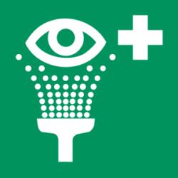 Symbol: Augenspüleinrichtung - E011