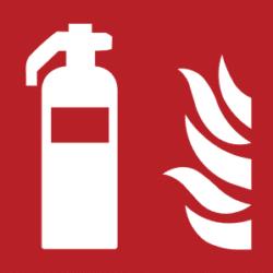 Symbol: Feuerlöscher - F001